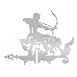 Флюгер «КЕНТАВР-1» 01-020 (700*800) RAL 7004 (сигнальный серый)