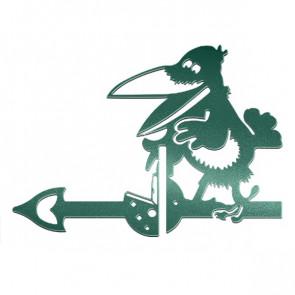 Флюгер «ВОРОНА» 01-010 (700*800) RAL 6005 (зеленый мох)