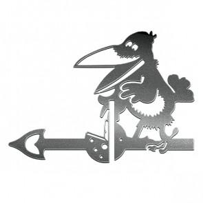 Флюгер «ВОРОНА» 01-010 (700*800) RAL 9005 (черный)