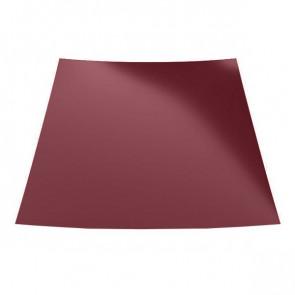 Гладкий лист с защитной пленкой (1250) 0,45 полиэстер RAL 3005 (винно-красный)