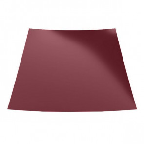 Гладкий лист (1250) 0,45 полиэстер RAL 3005 (винно-красный)