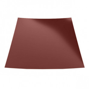 Гладкий лист с защитной пленкой (1250) 0,45 полиэстер RAL 3009 (красная окись)