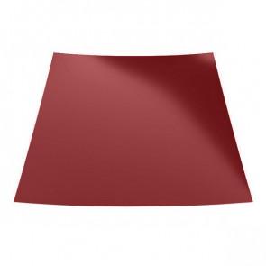 Гладкий лист с защитной пленкой (1250) 0,45 полиэстер RAL 3011 (коричнево-красный)
