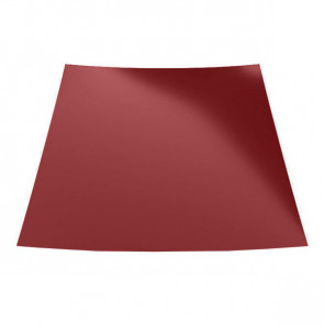 Гладкий лист с защитной пленкой (1250) 0,5 полиэстер RAL 3011 (коричнево-красный)