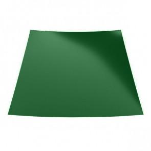 Гладкий лист с защитной пленкой (1250) 0,45 полиэстер RAL 6002 (лиственно-зеленый)