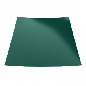 Гладкий лист с полимерным покрытием (1250) полиэстер 0,7 RAL 6005