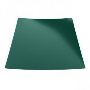 Гладкий лист с защитной пленкой (1250) полиэстер 0,7 RAL 6005