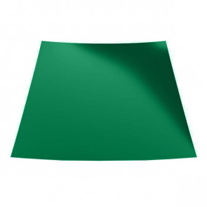 Гладкий лист с защитной пленкой (1250) 0,45 полиэстер RAL 6029 (мятно-зеленый)