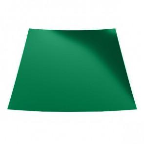 Гладкий лист с защитной пленкой (1250) 0,5 полиэстер RAL 6029 (мятно-зеленый)