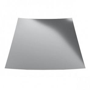 Гладкий лист с защитной пленкой (1250) 0,45 полиэстер RAL 7004 (сигнальный серый)