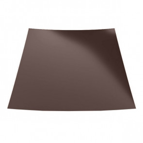 Гладкий лист с полимерным покрытием (1250) полиэстер 0,55 RAL 8017