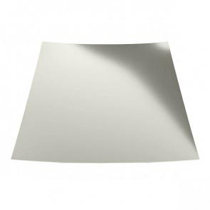 Гладкий лист с защитной пленкой (1250) 0,5 полиэстер RAL 9002 (серо-белый)