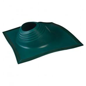 Проходка кровельная угловая № 2 D=203/H=280 мм (от -65 °C до +135 °C), зеленая, ЭПДМ резина/алюминий