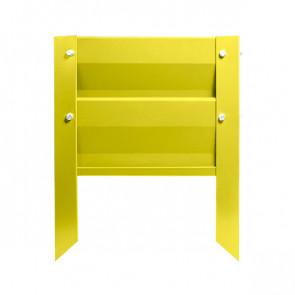 Грядка металлическая КРОМА RAL 1018 (цинково-желтый)