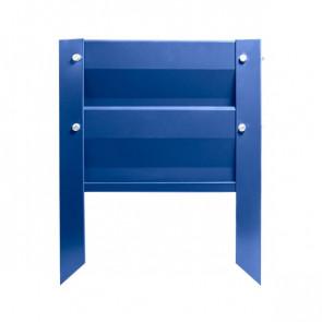 Грядка металлическая КРОМА RAL 5005 (сигнальный синий)