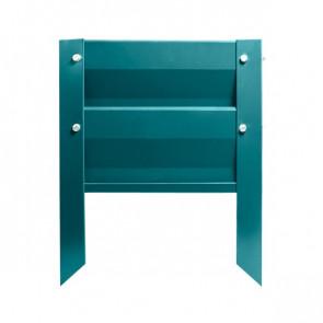 Грядка металлическая КРОМА RAL 5021 (водная синь)