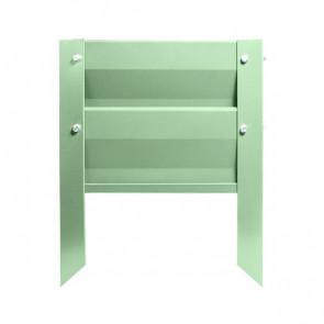 Грядка металлическая КРОМА RAL 6019 (бело-зеленый)