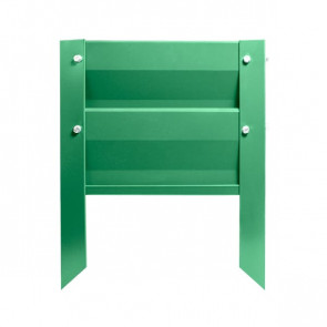 Грядка металлическая КРОМА RAL 6029 (мятно-зеленый)