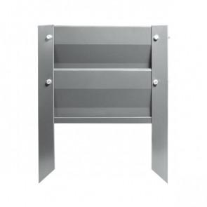 Грядка металлическая КРОМА RAL 7004 (сигнальный серый)