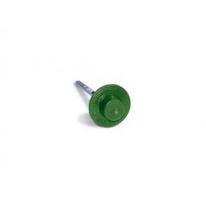 Гвозди для черепицы Ондувилла с литой шляпкой (3,1*75) цвет зеленый