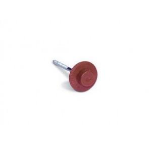 Гвозди для черепицы Ондувилла с литой шляпкой (3,1*75) цвет красный