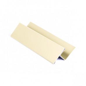 H – профиль для металлосайдинга, 1,25 м, полиэстер,RAL 1015 (слоновая кость светлая)