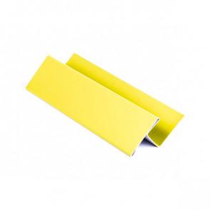 H – профиль для металлосайдинга, 2 м, полиэстер, RAL 1018 (цинково-желтый)