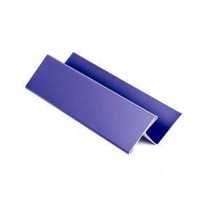 H – профиль для металлосайдинга, 2 м, полиэстер, RAL 5002 (ультрамарин)