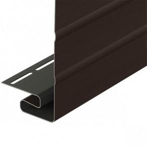 J-фаска для винилового сайдинга DOCKE (3000*203) шоколад