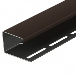 J-профиль для винилового сайдинга DOCKE (3000) шоколад