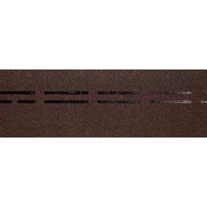 Гибкая черепица коньково-карнизная DOCKE PREMIUM (333*1000), цвет имбирь