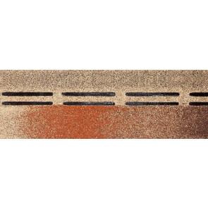 Гибкая черепица коньково-карнизная DOCKE PREMIUM (333*1000), цвет мускат