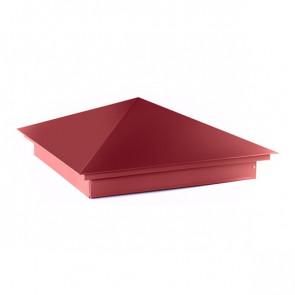 Колпак №-1 полиэстер RAL 3003 (рубиново-красный)