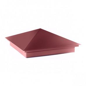 Колпак №-1 полиэстер RAL 3005 (винно-красный) стальной бархат