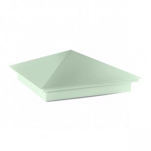 Колпак №-1 полиэстер RAL 6019 (бело-зеленый)