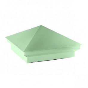 Колпак №-2 полиэстер RAL 6019 (бело-зеленый)