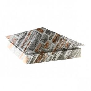 Колпак №-3 SteelArt кварцевый сланец 3D