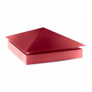 Колпак №-3 полиэстер RAL 3003 (рубиново-красный)