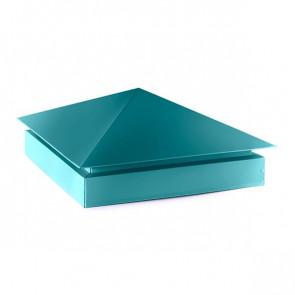 Колпак №-3 полиэстер RAL 5021 (водная синь)