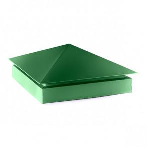 Колпак №-3 полиэстер RAL 6002 (лиственно-зеленый)