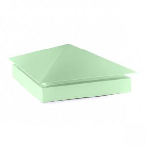 Колпак №-3 полиэстер RAL 6019 (бело-зеленый)