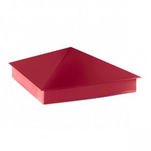 Колпак №-4 полиэстер RAL 3003 (рубиново-красный)