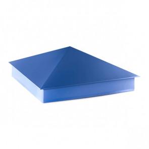 Колпак №-4 полиэстер RAL 5005 (сигнальный синий)
