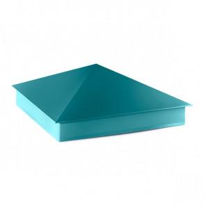 Колпак №-4 полиэстер RAL 5021 (водная синь)
