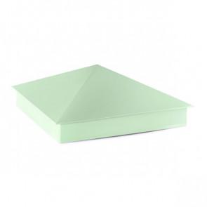 Колпак №-4 полиэстер RAL 6019 (бело-зеленый)