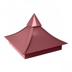 Колпак №-5 полиэстер RAL 3005 (винно-красный) матовый