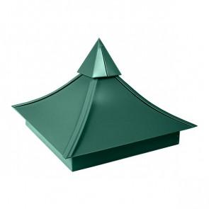 Колпак №-5 полиэстер RAL 6005 (зеленый мох)