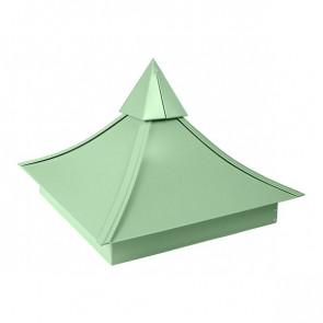 Колпак №-5 полиэстер RAL 6019 (бело-зеленый)