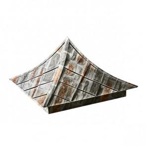 Колпак №-6 SteelArt кварцевый сланец 3D