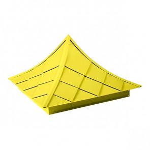 Колпак №-6 полиэстер RAL 1018 (цинково-желтый)